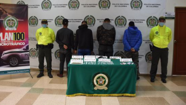 4 miembros de grupo delincuencial de Barcelona no aceptaron cargos