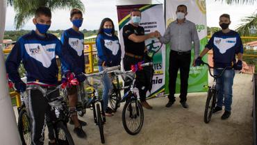 Programa Colombia en Bici llegó a Quimbaya
