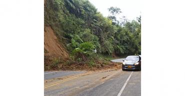 En Chagualá se registró nuevo deslizamiento