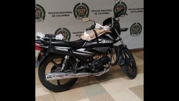 Sijín recuperó motocicleta de repartidor de periódico que fue hurtada en Armenia