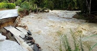 Emergencia por lluvias 8 municipios quindianos en alerta naranja por estragos del invierno