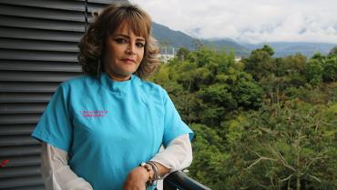Claudia Mejía ayuda a que los abuelos tengan una mejor vida