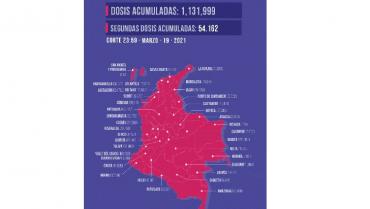 En el Quindío se han aplicado 15.401 dosis contra la Covid-19