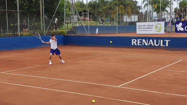 Con 64 exponentes, en marcha el Sudamericano de Tenis JB1