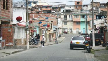 Homicidio con arma  cortopunzante en La Arboleda