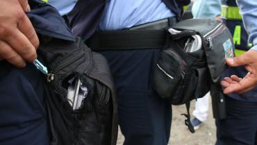 Crisis de los agentes de tránsito de Armenia no se detiene