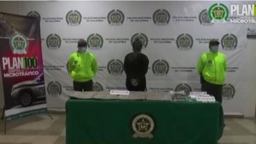 Mujer fue detenida por ocultar 10.000 dosis de marihuana en su casa