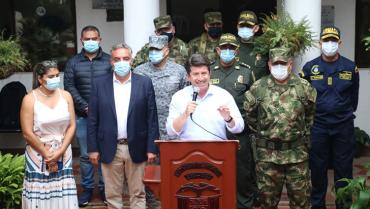 Mindefensaanunció plan para combatir el microtráfico en el Quindío
