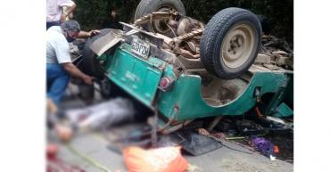 14 heridos y un muerto tras accidente de Jeep en Calarcá