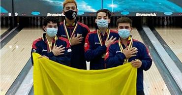 Un quindiano le dio la segunda medalla de oro a Colombia  en el panamericano de bolo