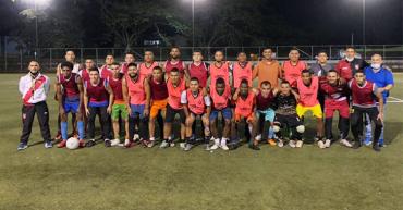 Club Tebas FC en busca del título de la C
