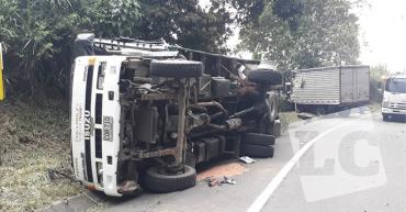 2 lesionados en accidente de tránsito en La Tebaida