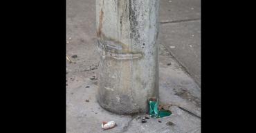 Robaron cables de las cámaras de seguridad en el barrio Miraflores
