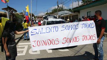 Pregoneros de Salento apoyan la formalización a su actividad, pero no la prohibición total