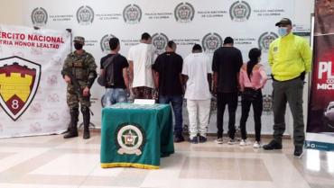 Autoridades impactaron estructura delincuencial del tráfico de drogas en Circasia y La Tebaida