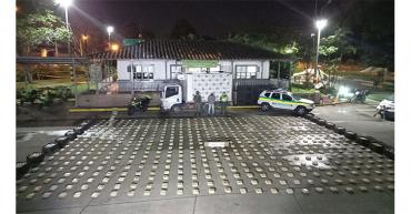 Policía incautó 500 kilos de marihuana vía La Línea