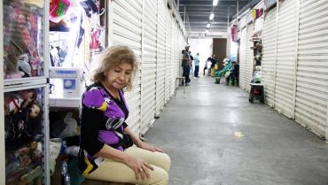 Fallas eléctricas en C. C. del Café llevaron a que algunos comerciantes cerraran locales