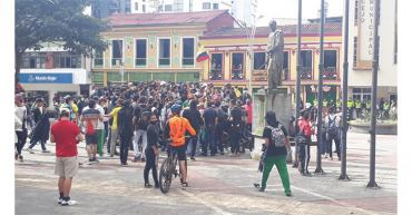 3 capturados por disturbios en Calarcá
