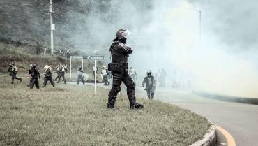 6 capturados en Calarcá y 5 en Armenia durante 2 días de protestas
