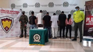 6 personas señaladas de pertenecer al GDCO 'los del Tren' fueron judicializadas