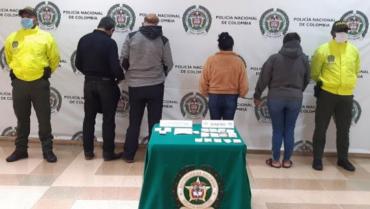 Por integrar banda de chance ilegal, 4 personas capturadas