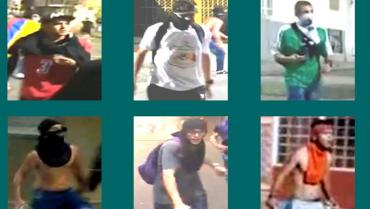 Policía expuso el cartel de los supuestos vándalos de las protestas en Quindío