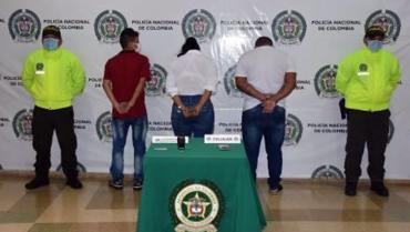 En operación 'los rápidos', fueron capturadas 3 personas