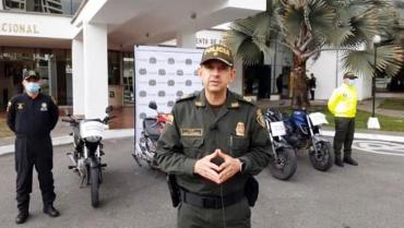 Policía Nacional recuperó un carro y 5 motocicletas
