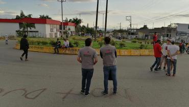 Cierres en glorieta Malibú afectan la movilidad, la convivencia y el comercio