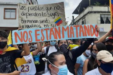 Piden respeto a misión médica tras 169 ataques durante protestas en Colombia