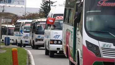 Transportadores intermunicipales le dicen no a bloqueos y reposición de vehículos