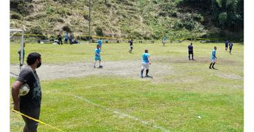 Este domingo inicia torneo de fútbol 9 sub-40
