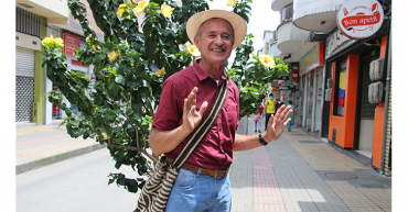 'Chucho' Alzate,  el historiador de la identidad cafetera