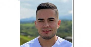 Enfermero Diego Alejandro Castillo, víctima fatal en accidente de tránsito