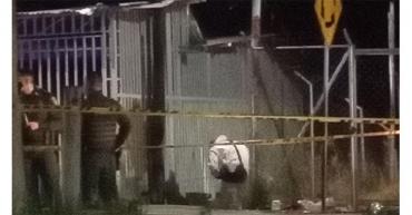 Homicidio con arma de fuego en la avenida Centenario