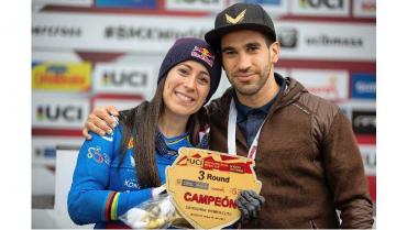 Mariana Pajón encabeza el equipo colombiano de BMX en los Olímpicos de Tokio