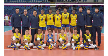 Desde hoy, selección Colombia de voleibol femenino entrenará en Quindío