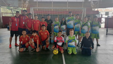 Primer Festival de Fútbol de Salón en Salento