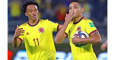 Colombia irá a la Copa América con Cuadrado pero sin James Rodríguez