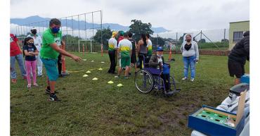 En Armenia se realizó el Festival Recreodeportivo de Discapacidad