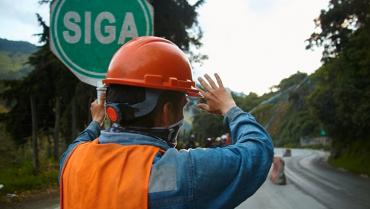 Por trabajos en Bellavista, seguirá cierre nocturno entre Calarcá y Cajamarca