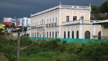 El 'vacío' que rodea al museo  Maqui, ubicado en la estación