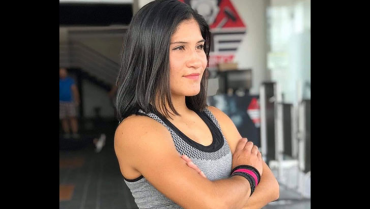 Paula Duque, la porrista que representa al Quindío en competencias internacionales