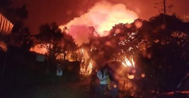 Incendio en Panaca