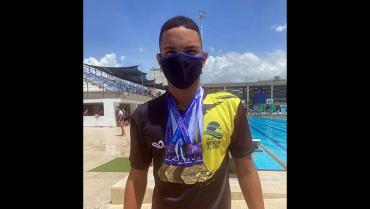 Quindiano ganó 6 medallas en el nacional interligas