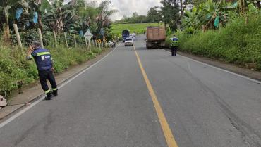 2 personas murieron en accidente de tránsito