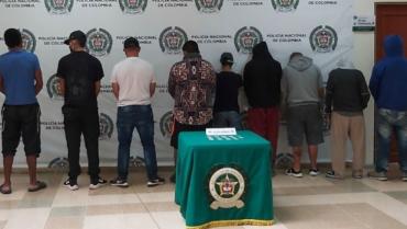 A prisión 9 integrantes del grupo delincuencial 'Los Invasores II'