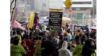 El Comité del Paro anuncia suspensión temporal de las protestas en Colombia