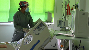 Por ocupación elevada en UCI, alerta roja hospitalaria en el Quindío