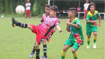 Inició la sexta versión de  la Copa Infantil de Fútbol